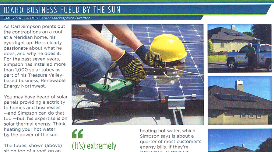 Renewable Energy In The News!