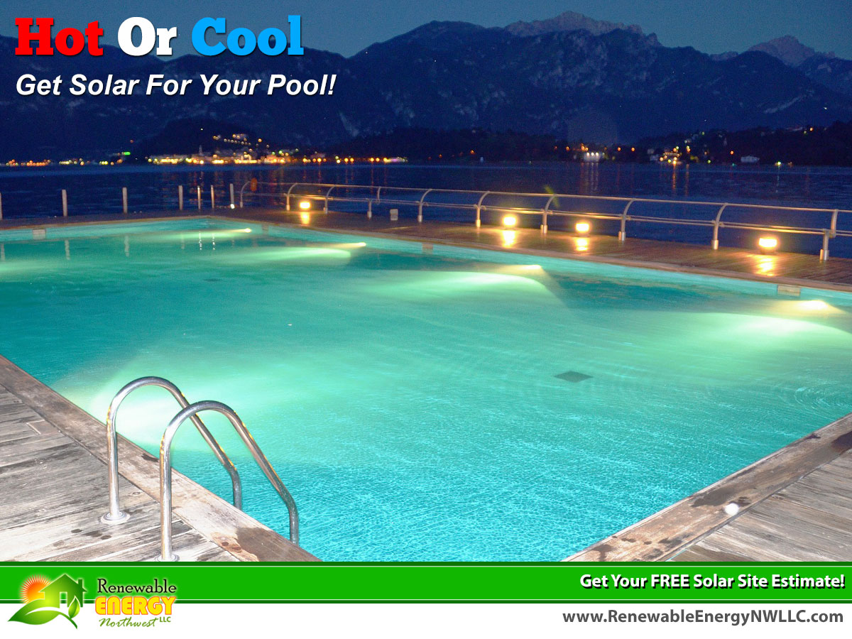 Hot Or Cool Use Solar To Power Your Pool!