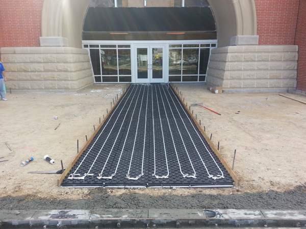Solar Thermal Answer for Frozen Driveways, Patios and Walks