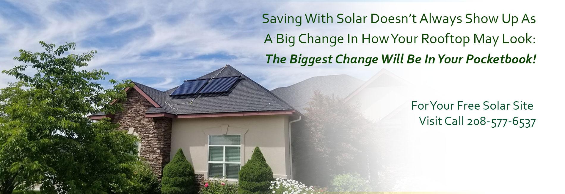 Idaho Solar Thermal Radiant Heating